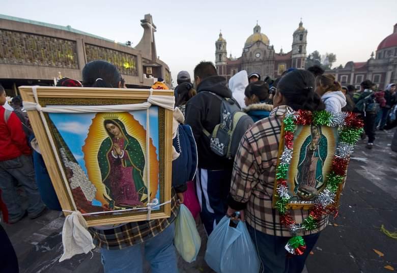 Virgen de Guadalupe serenata