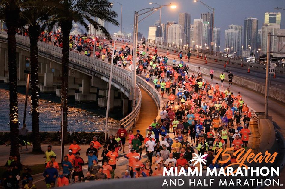Miles de participantes toman las calles de Miami en la competencia. (TheDreamTeamagency)