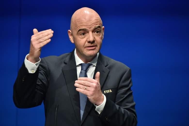 El presidente de la FIFA, Gianni Infantino (Getty)