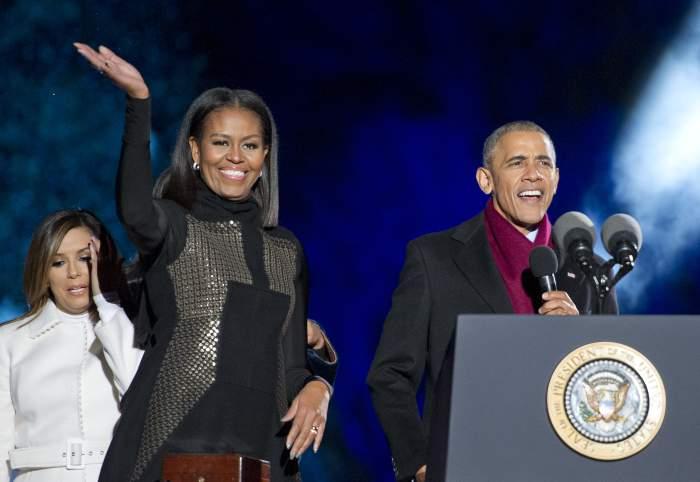 Barack Obama & Michelle Obama (Getty)