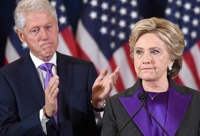 Bill Clinton e Hillary Clinton (Getty)