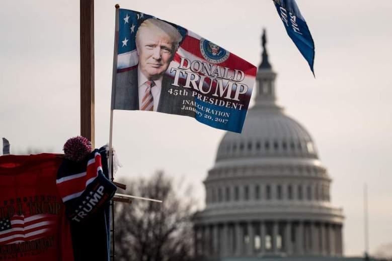 Todo en marcha para la inauguración de Donald Trump. (Getty Images)