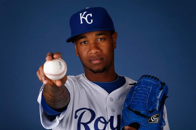 Lanzador Yordano Ventura del equipo Kansas City Royals falleció la madrugada del domingo. (Getty)