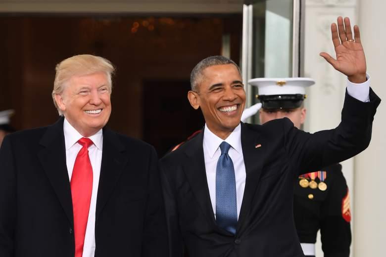 Barack Obama, Donald Trump, Inauguracion, Barack Obama Donald Trump