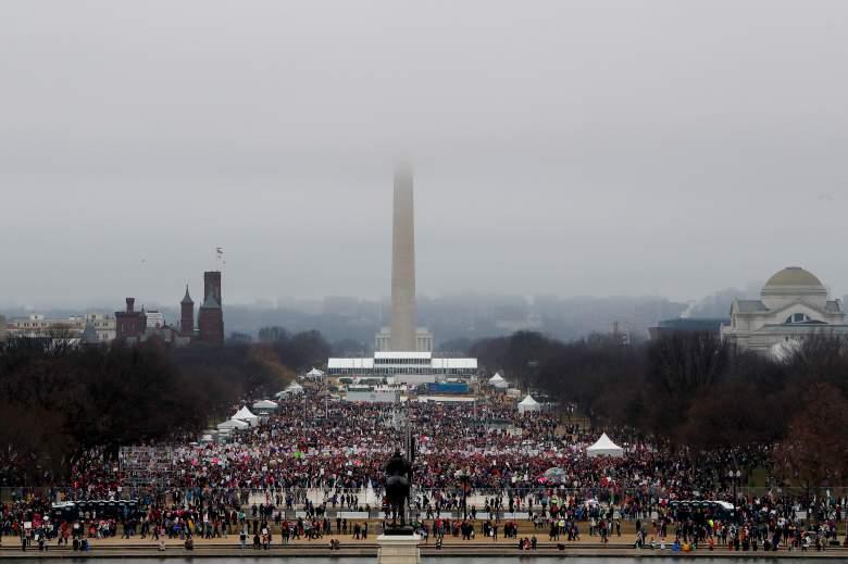 Marcha de ls mujeres, Women's march