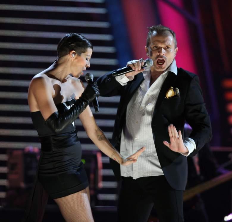 """Miguel Bosé cantó a duo con su sobrina Bimba en su disco """"Papito"""". (Getty)"""