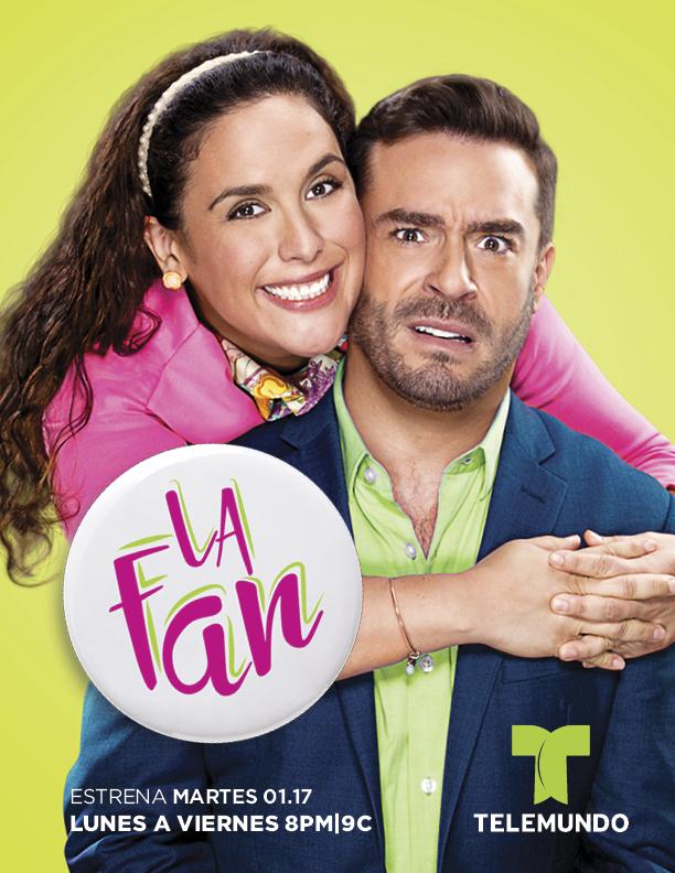La pareja de la nueva comedia romántica de Telemundo (Cortesía Telemundo)