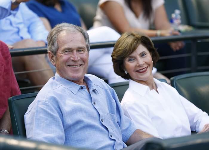 George W. Bush & Laura Bush (Getty)