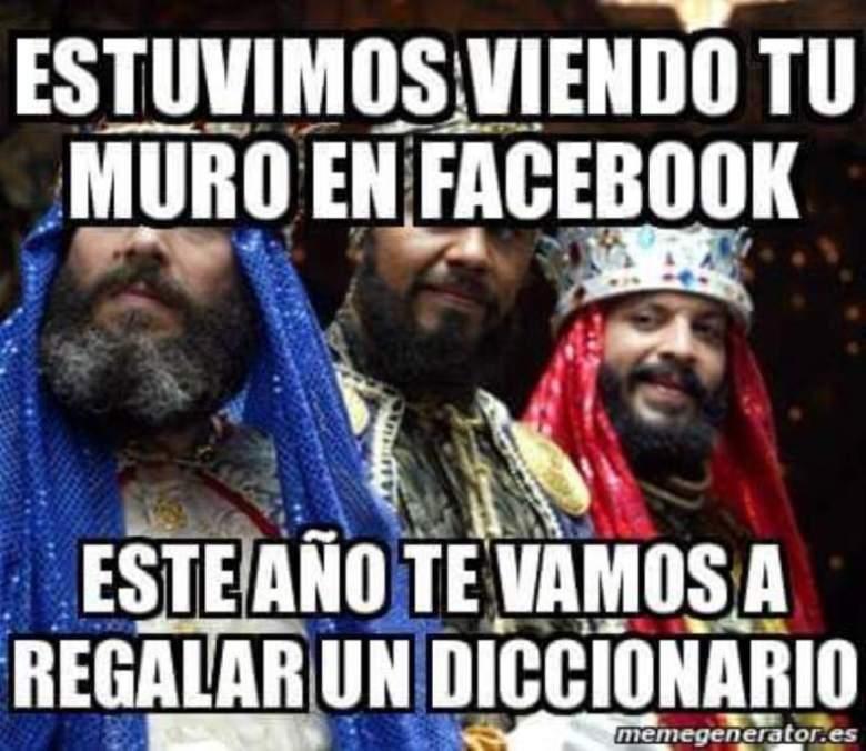 Reyes Magos memes
