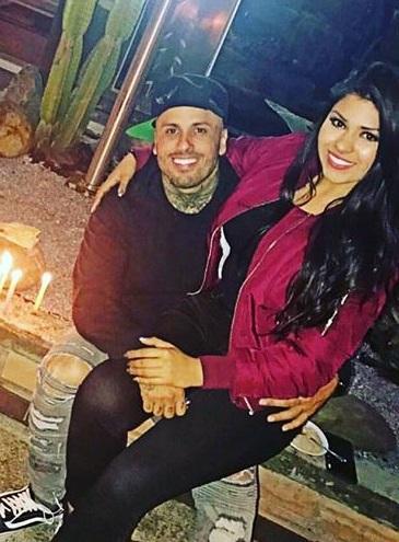 Angelica Cruz, esposa de Nicky Jam
