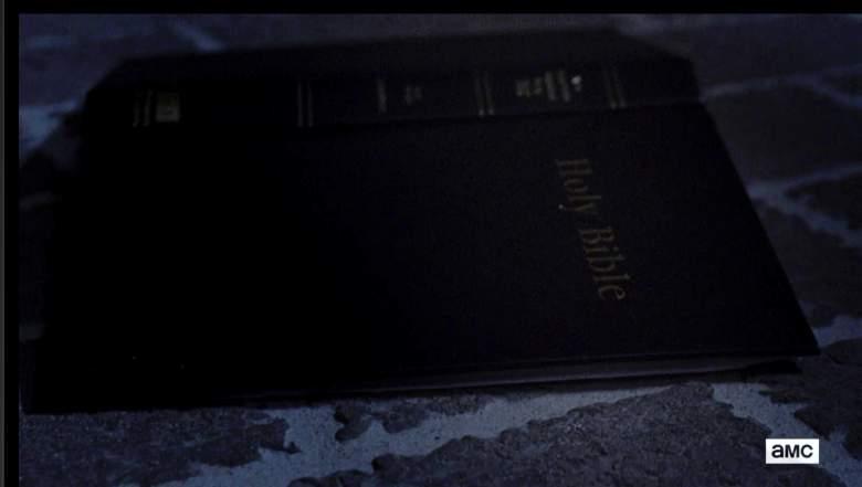 La Biblia de Gabriel. (AMC/The Walking Dead)