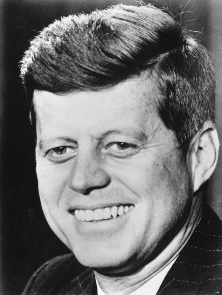 John F Kennedy (Getty)