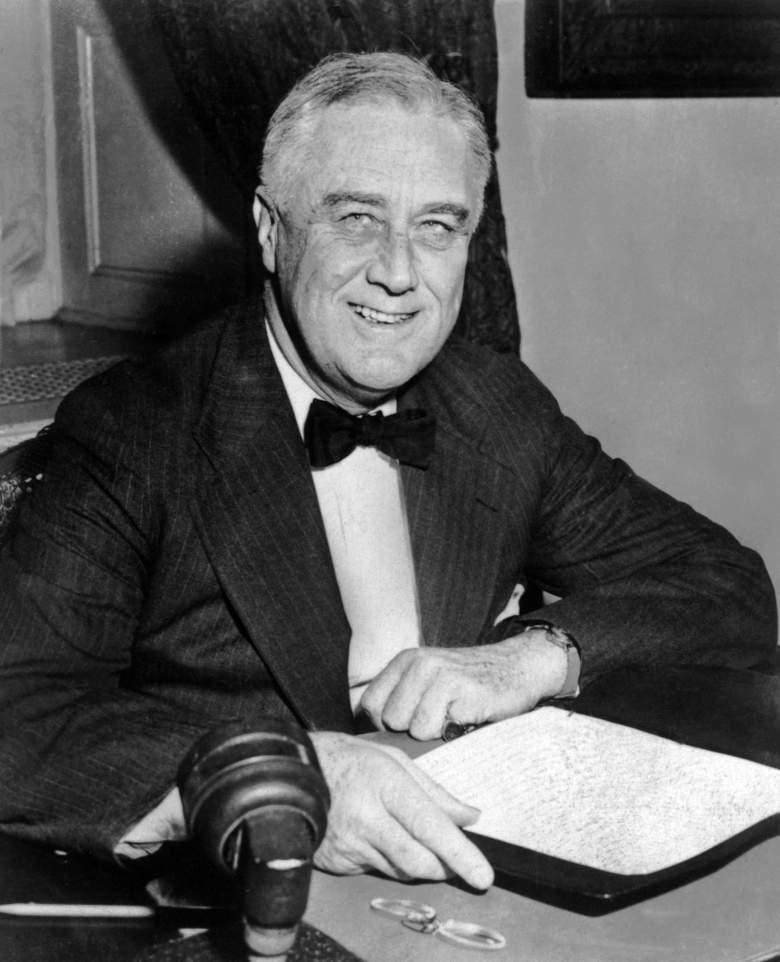 Franklin D. Roosevelt (Getty)