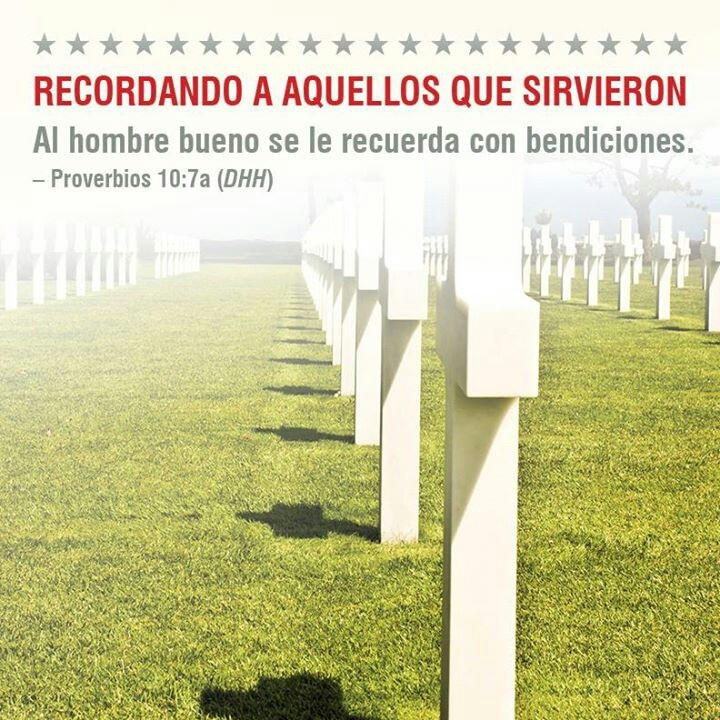 Memorial Day: Frases en Imagenes para compartir
