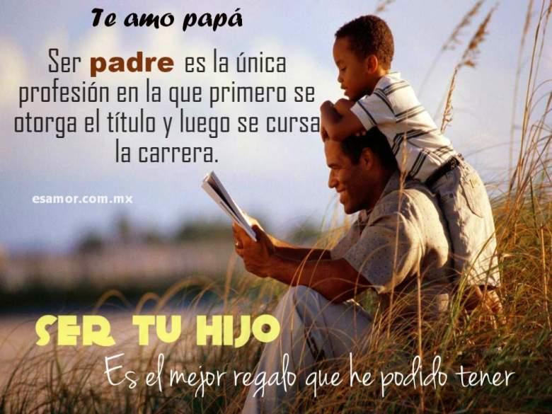 Frases para compartir en el Dia del Padre
