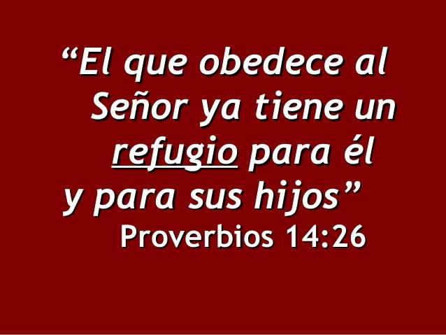 Proverbios 14:26 Versiculos de la Biblia Dia del Padre