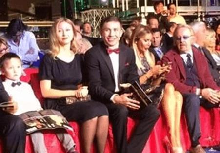 """FOTOS: Gennady """"GGG"""" Golovkin y su esposa  Alina"""