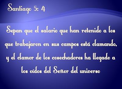 Santiago 5 4 versiculos de la Biblia para compartir en Labor Day 2017