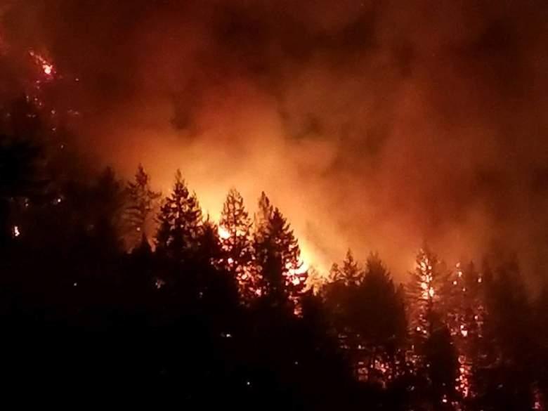 Incendios en Santa Cruz, California