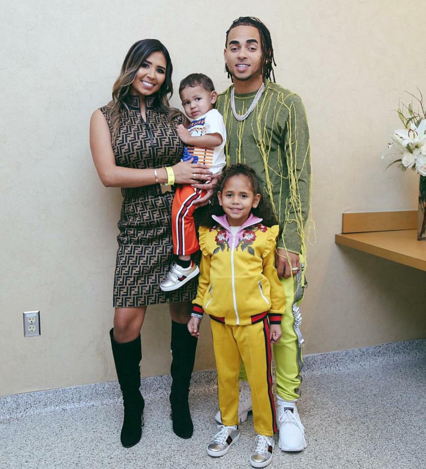 Cuántos hijos tiene OZUNA? Esposa de OZUNA, Taina Marie Meléndez