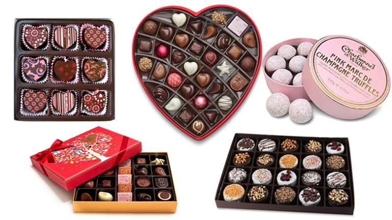Las mejores cajas de bombones para San Valentine 2019