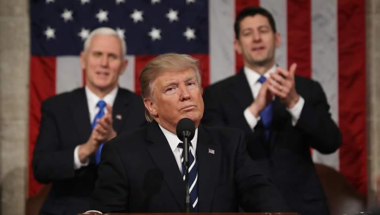 Donald Trump, Estado de la Union