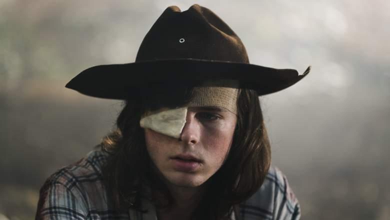 Carl Muere en The Walking Dead