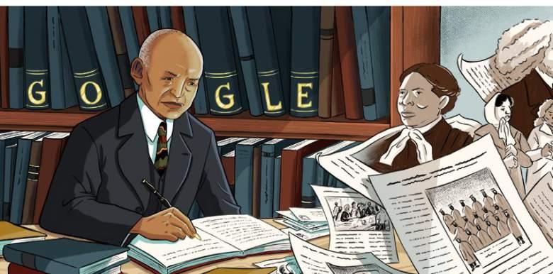 Carter G. Woodson Google Doodle.