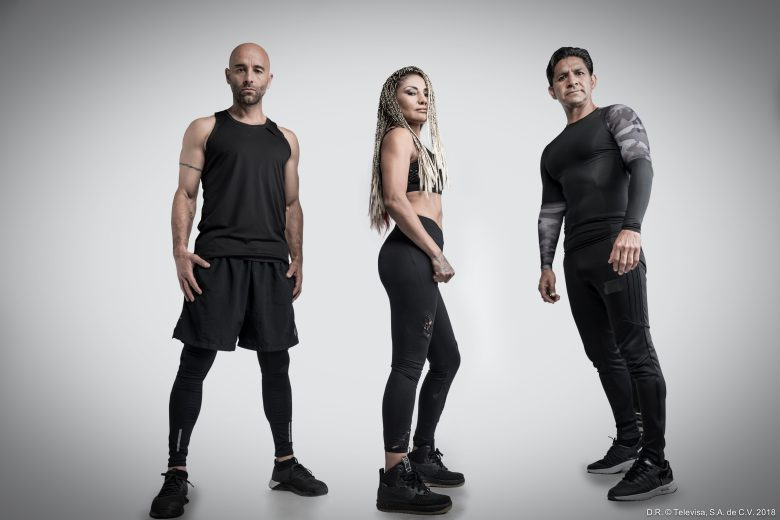 "Concursantes Reality Reto 4 Elementos, Atletas, Lorena Dromundo, Mariana ""La Barby"" Juárez,, Johan Rodríguez e Isaac Terrazas"