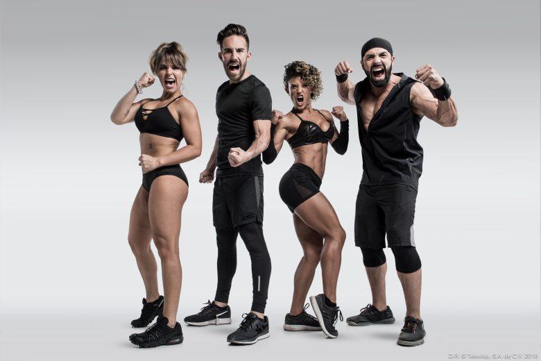 Reality Reto 4 Elementos, concursantes, Deportistas; Thaily Amezcua, Pablo Gil Zaragoza, Fernanda López y Memo Corral