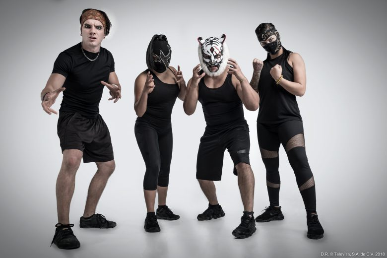 Reality Reto 4 Elelementos, concursantes,luchadores Lady Shani, Hades, Bengala y Australian Suicide