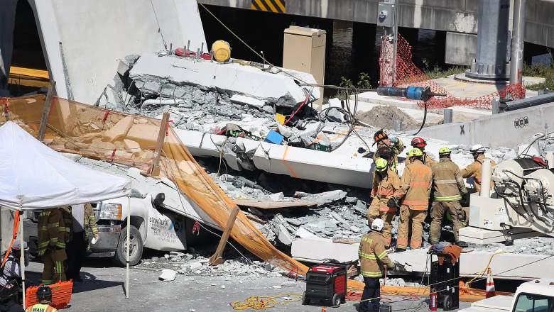Puente Collapsado en FIU, MMC Munilla Construction