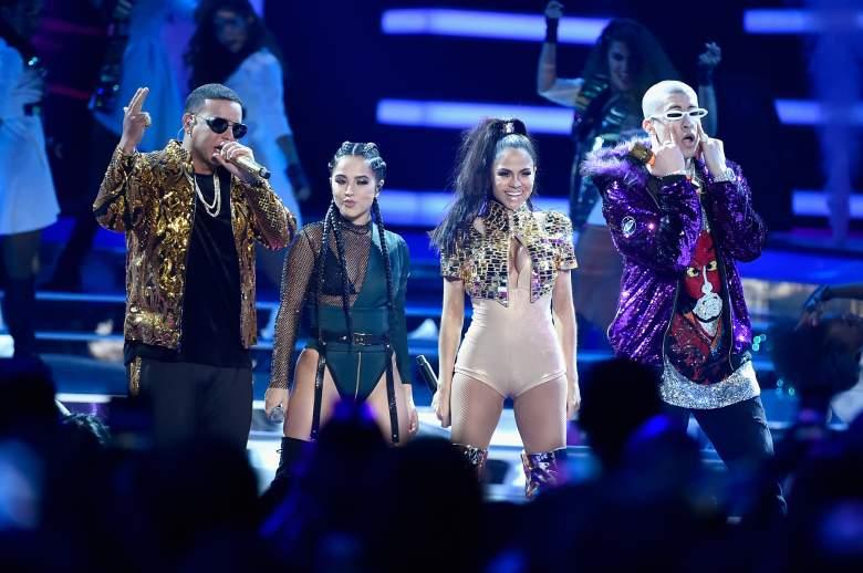 Daddy Yankee, Becky G, Natti Natasha, Bad Bunny