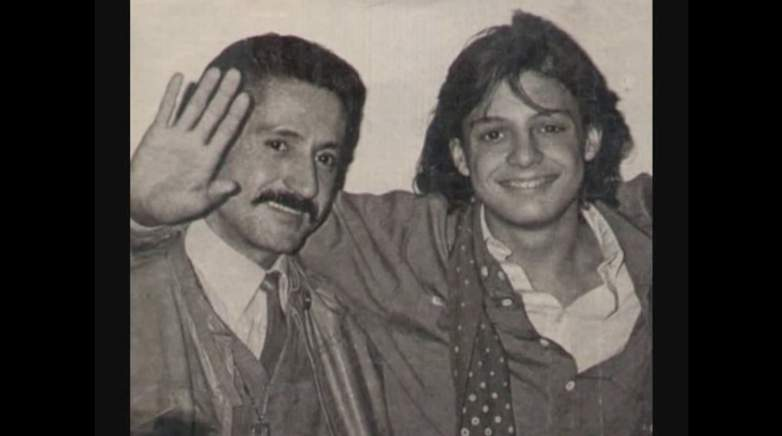 Luisito Rey, Marcella Basteri