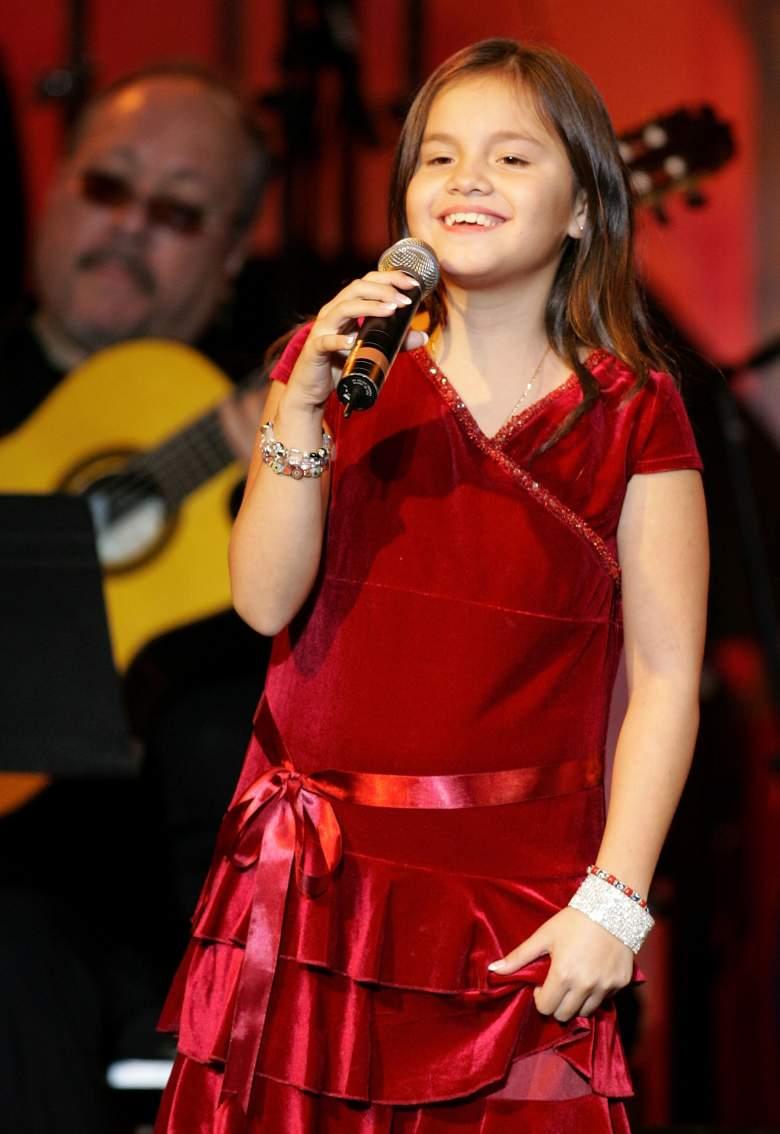 Sarita Sosa Salazar, hija menor de José José, Serie José José, el Príncipe de la Canción, Telemundo