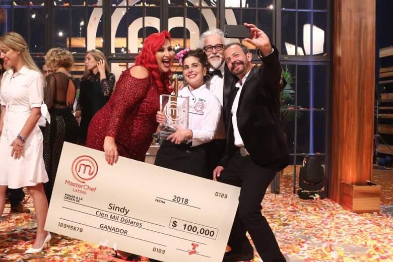 Sindy Lazo ganó el MasterChef Latino, Telemundo