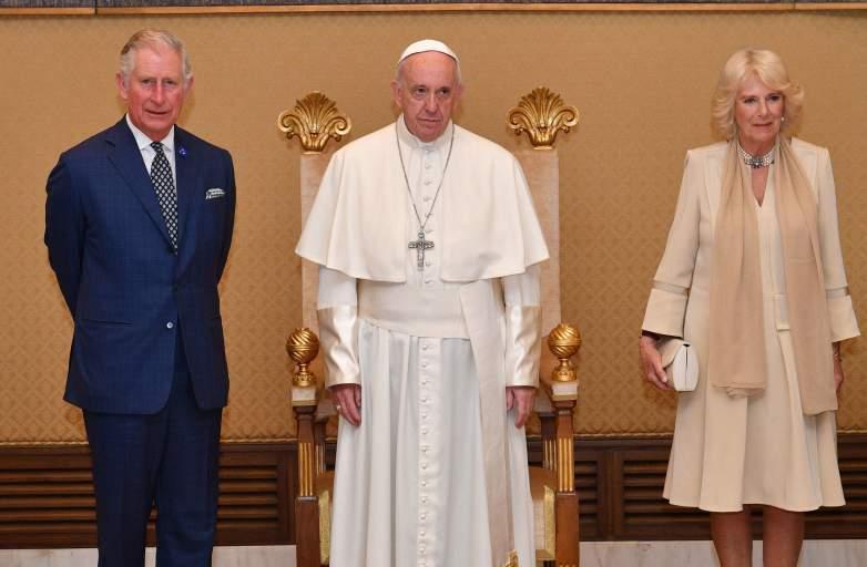 Papa Francisco, Principe Carlos, Camilla