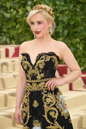 Emilia Clarke, met gala 2018