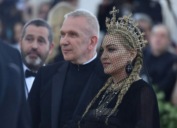 madonna, met gala 2018