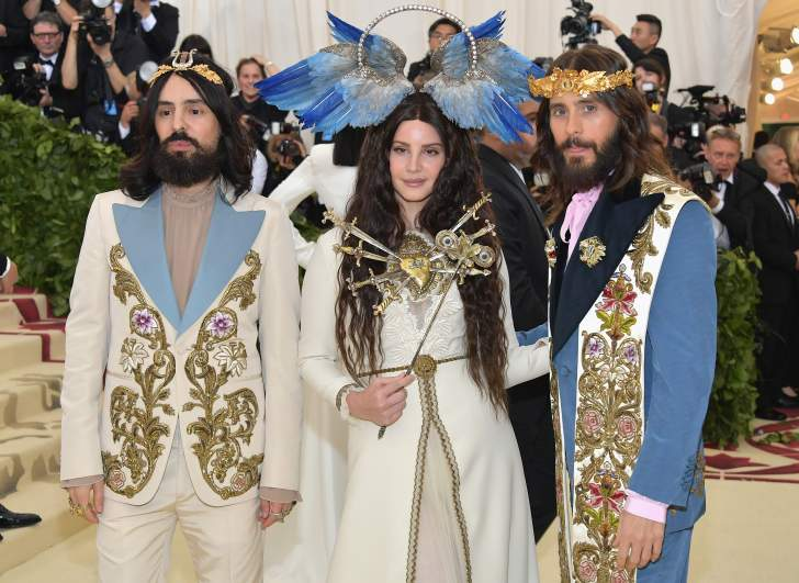 Alessandro Michele, Lana Del Rey, Jared Leto, met gala 2018