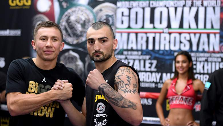 Golovkin vs Martirosyan Live Stream: How to Watch Fight Online for Free, Como ver la pelea gratis, Quien ganó la pelea?