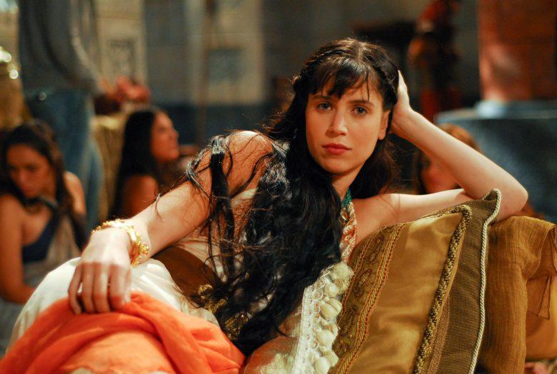 Mel Lisboa como Dalida, Serie Sansón y Dalia, Unimás, como ver la serie en linea