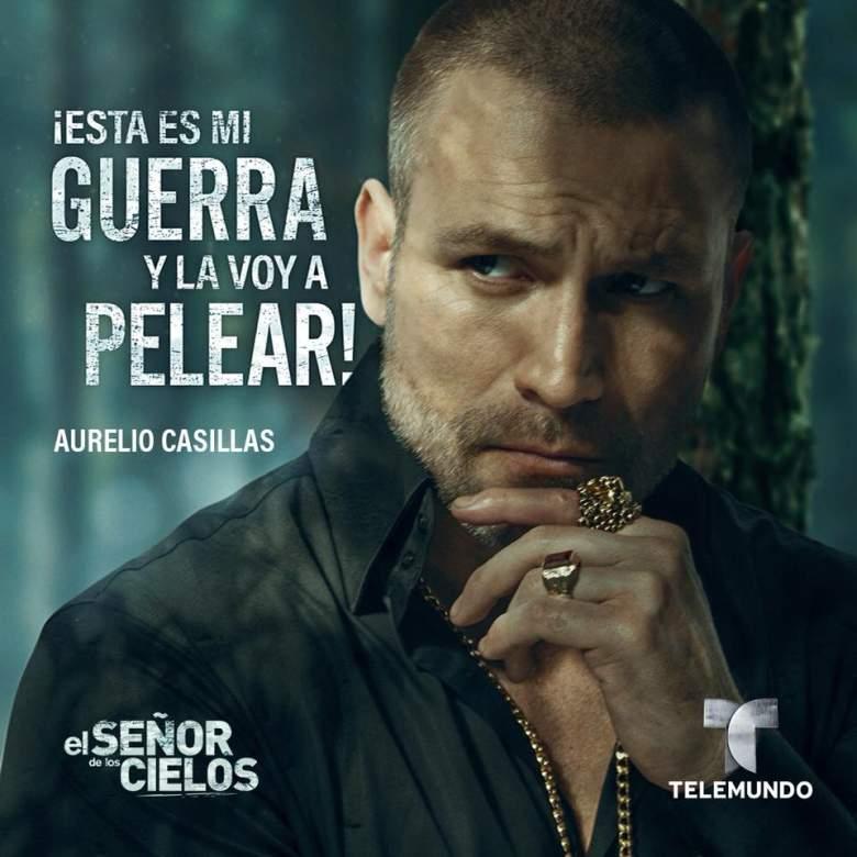 Quién es Quién en el Señor de los Cielos 6, Rafael Amaya es Aurelio Casillas, Serie de Telemundo, elenco, reparto, actores, personajes