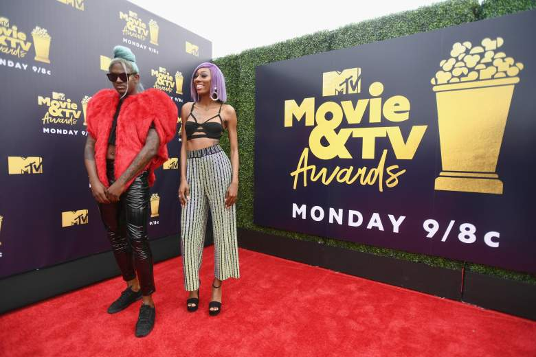 MTV Movie y TV Awards 2018 red carpet, Peores vestidos, peores looks, Internet personalities TiTi (L) and LaLa