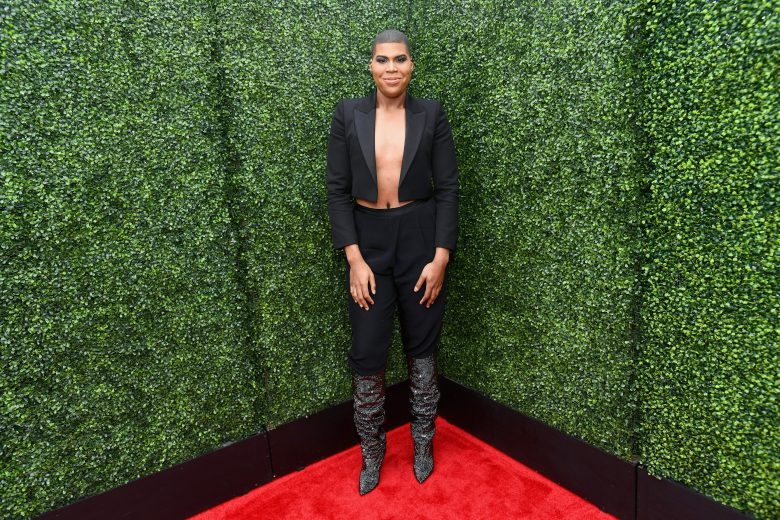 MTV Movie y TV Awards 2018 red carpet, Peores vestidos, peores looks, EJ Johnson, MTV Movie y TV Awards 2018 red carpet, Peores vestidos, peores looks,