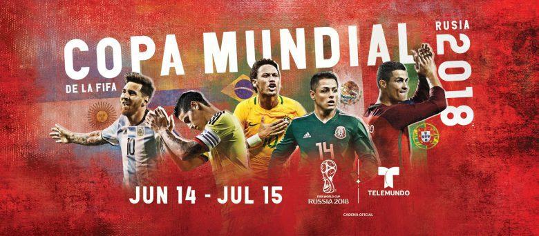 Telemundo Copa Mundial Rusia 2018, Horaios, Partidos, Live Stream