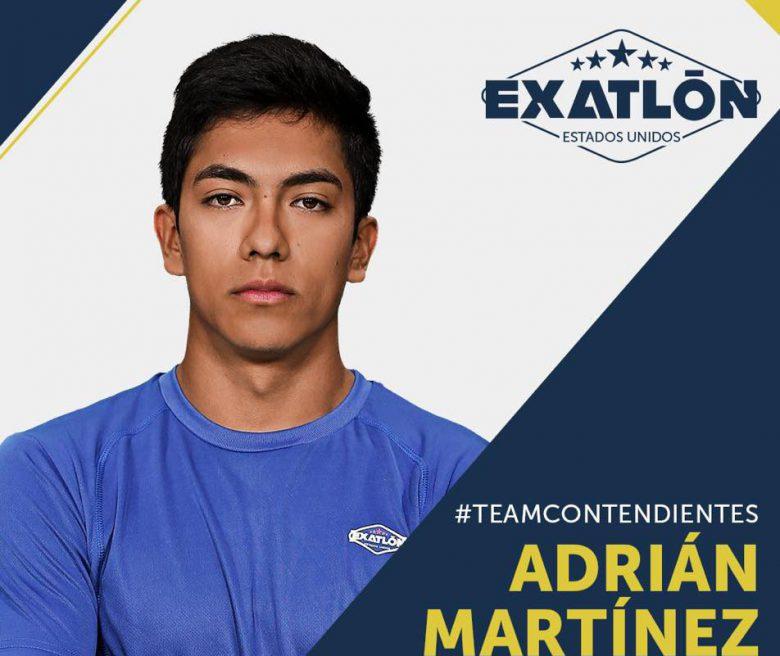 Exatlón -Estados Unidos: Quienes son los concursantes?, fotos, participantes, equipos, Adrián Martinez
