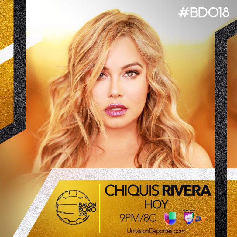 """Premios """"Balón de Oro 2018"""" de la liga MX, Como ver el Live Steam, en vivo, Internet, Chiquis Rivera"""