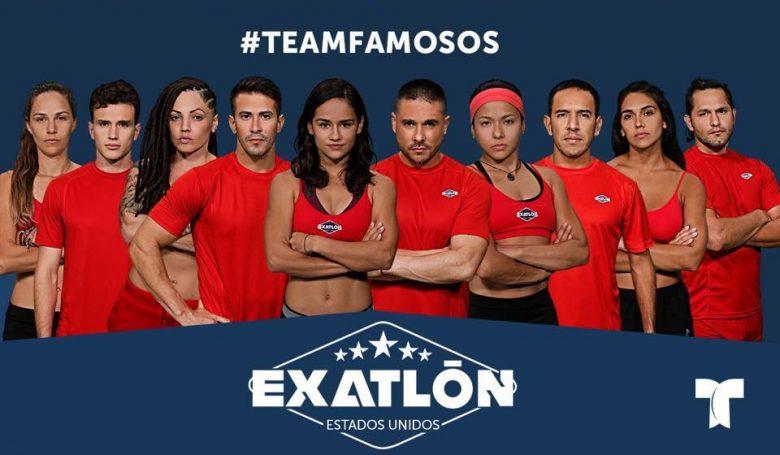 Exatlón -Estados Unidos: Quienes son los concursantes? Team Famosos,
