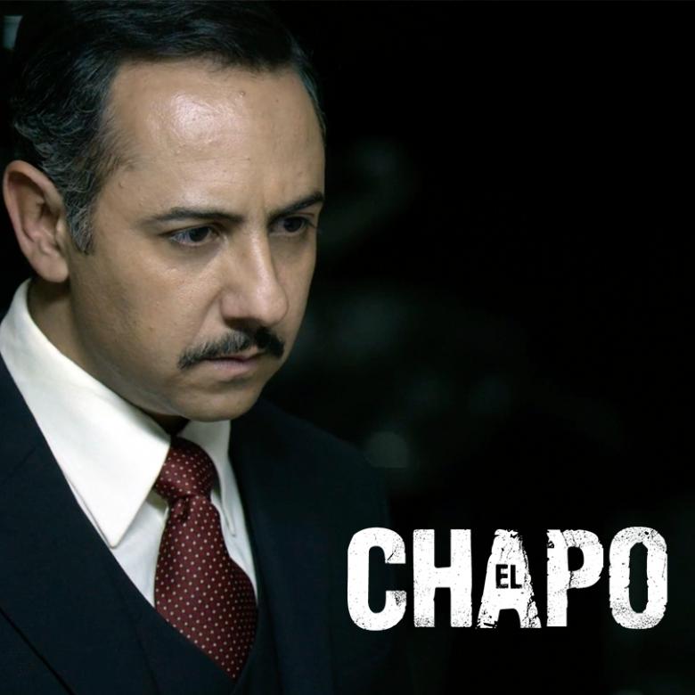"""Humberto del Busto interpreta a Conrado Sol en la serie """"El Chapo"""", El Chapo 3, 5 datos curiosos, elenco, reparto, personajes,"""